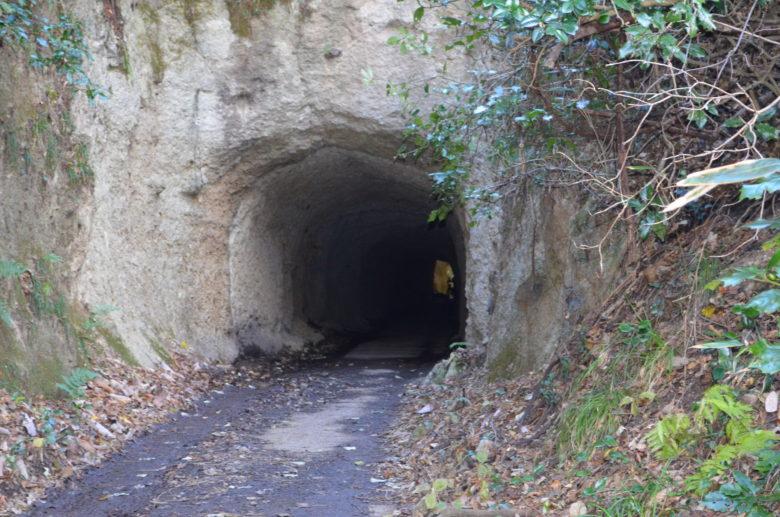 千と千尋の神隠しのようなトンネルの外観