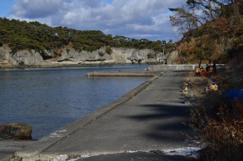 旧鮫ヶ浦港跡