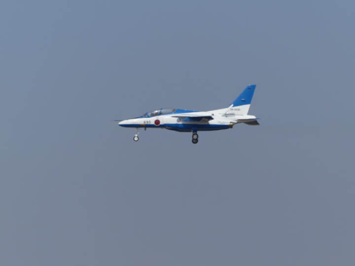 ブルーインパルス着陸前