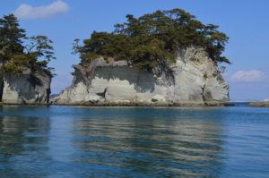 嵯峨渓の島