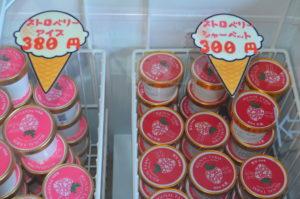 イグナルファーム販売のアイスとシャーベット