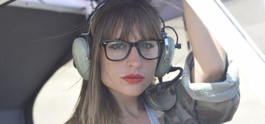 女性パイロット