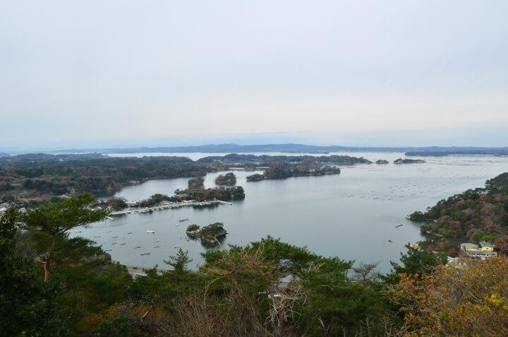 松島四大観 壮観・大高森からの眺め