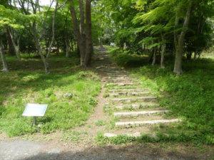 松島四大観 偉観・多聞山登山道入口