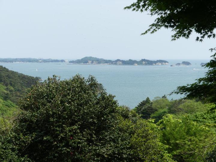 松島四大観 幽観・扇谷からの眺め