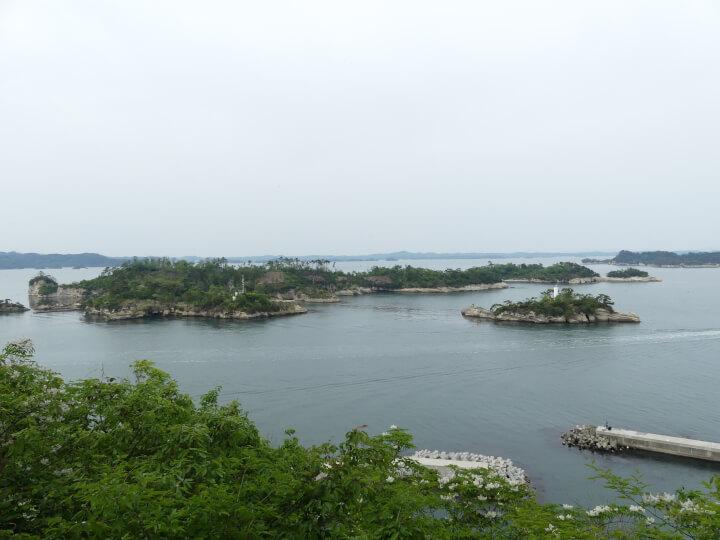 松島四大観 偉観・多聞山・毘沙門堂からの眺め