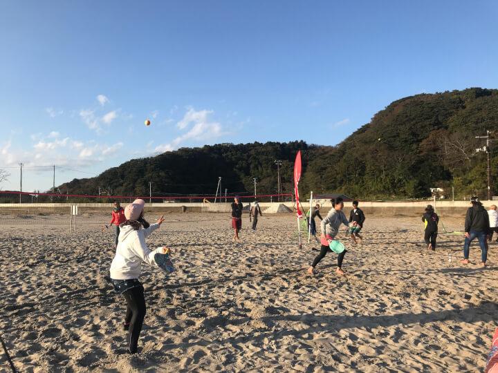 ビーチテニスin大浜海岸